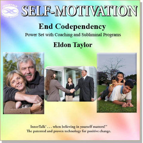 End Codependence  (Echo-Tech + InnerTalk subliminal personal empowerment affirmations CDs and MP3s)
