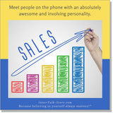 Telephone Sales - InnerTalk subliminal self-improvement affirmations CD / MP3 - Patented! Proven! Guaranteed! - The Best