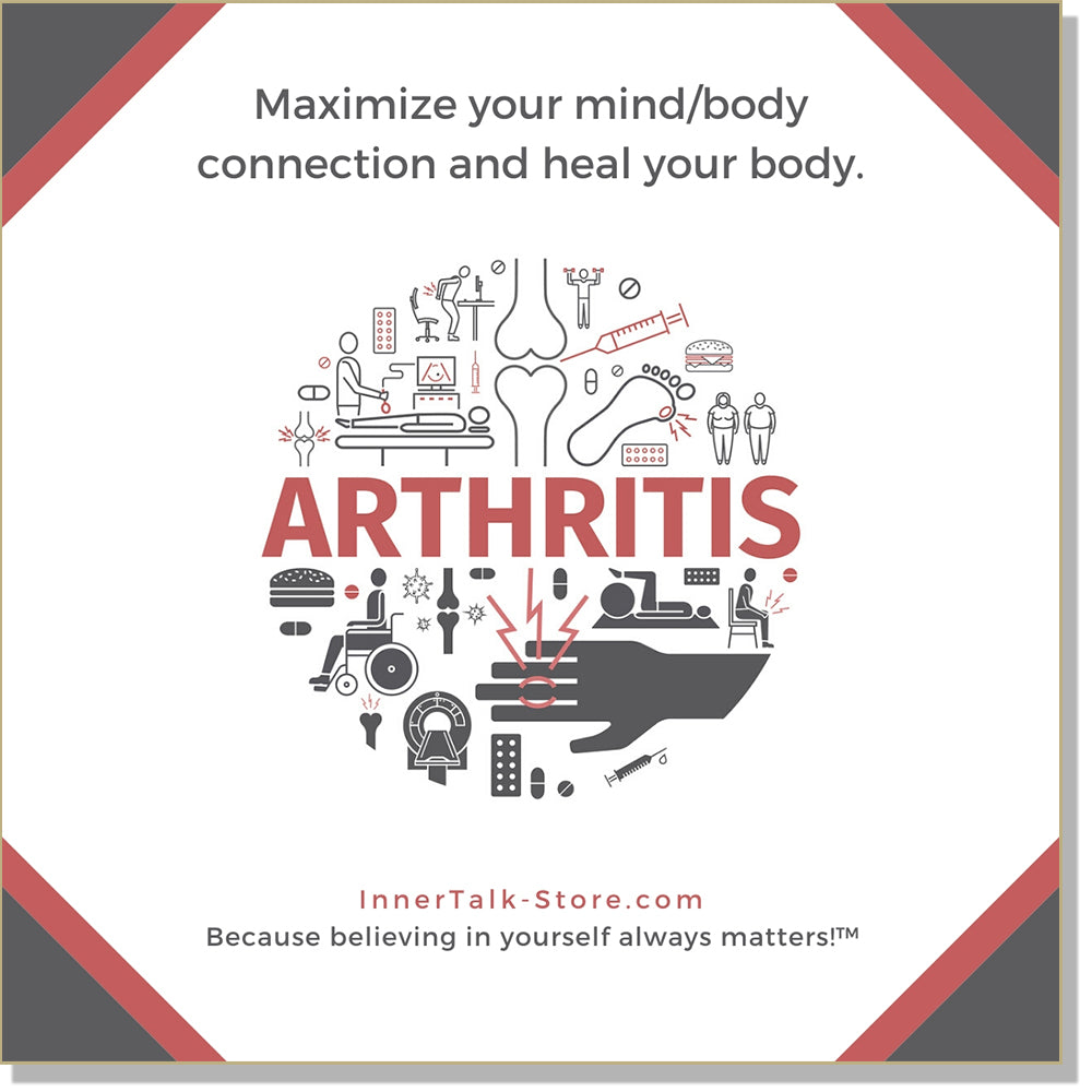 Freedom from Arthritis - InnerTalk subliminal self-improvement affirmations CD / MP3 - Patented! Proven! Guaranteed! - The Best