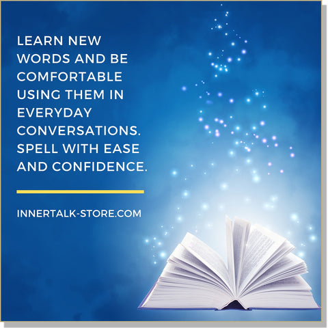 Word Power: Spelling and Vocabulary (InnerTalk subliminal personal empowerment CD and MP3)