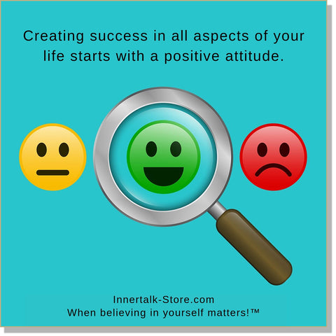 Positive Mental Attitude (InnerTalk subliminal self empowerment CD and MP3)