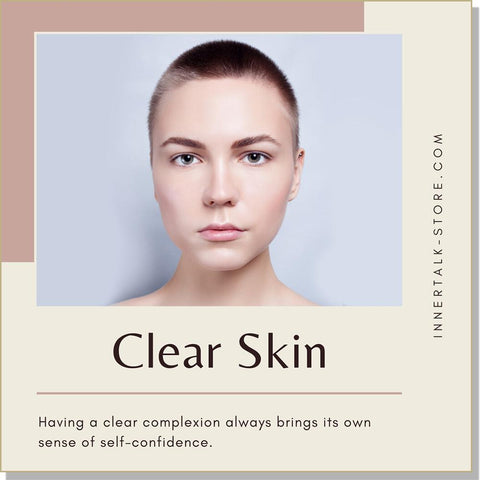 Clear Skin - InnerTalk subliminal self-improvement affirmations CD / MP3 - Patented! Proven! Guaranteed! - The Best
