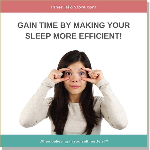 Sleep Reduction - InnerTalk subliminal self-improvement affirmations CD / MP3 - Patented! Proven! Guaranteed! - The Best