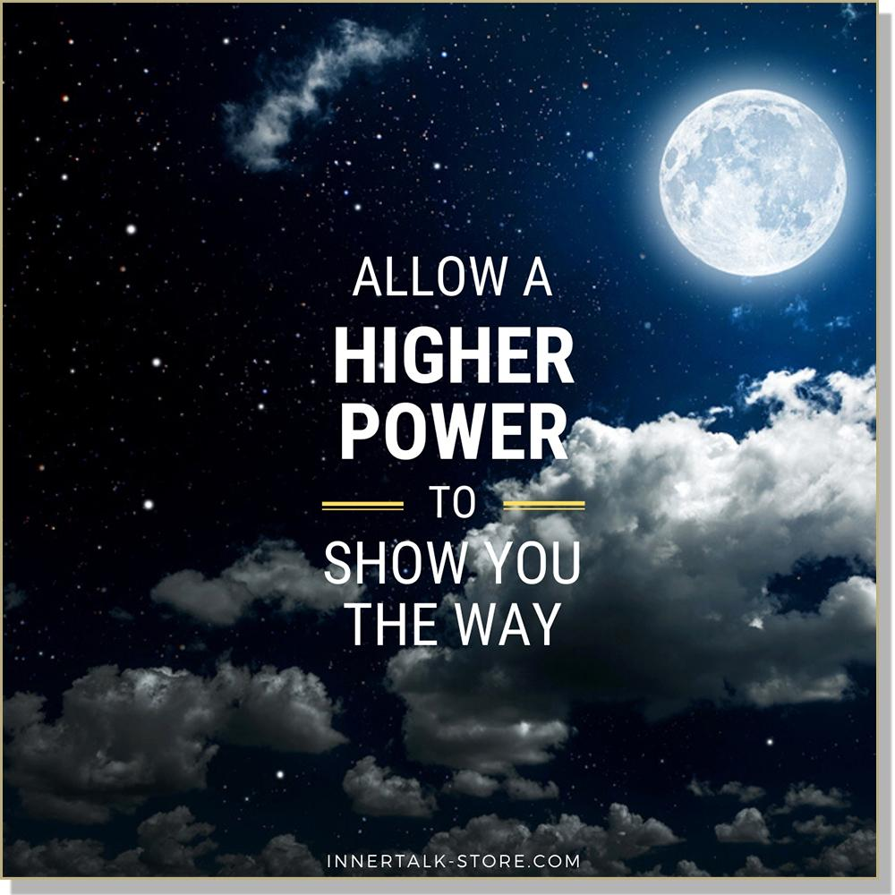 Opening Up to a Higher Power (InnerTalk subliminal self help CD and MP3)