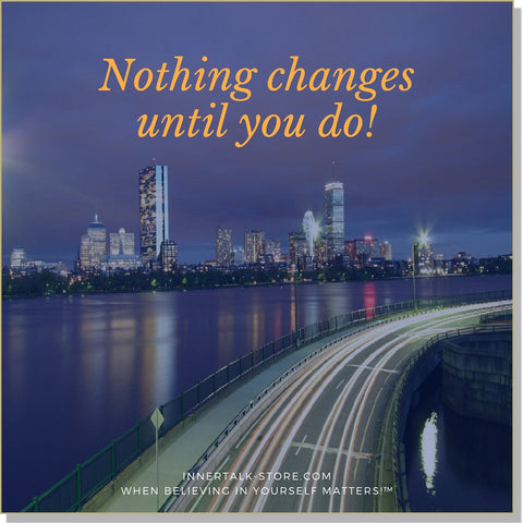 Accepting Change (InnerTalk subliminal personal empowerment CD and MP3)
