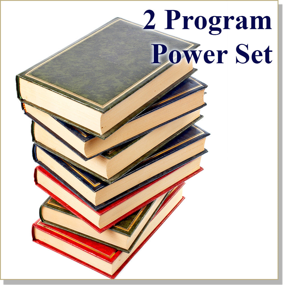 Learning Power - InnerTalk subliminal hypnosis self-help Power Set