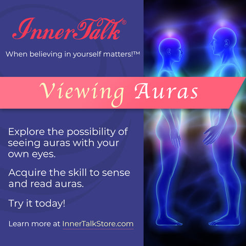 Viewing Auras - InnerTalk subliminal self-improvement affirmations CD / MP3 - Patented! Proven! Guaranteed! - The Best
