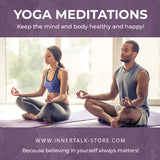 Yoga Meditations - an InnerTalk subliminal personal improvement CD / MP3