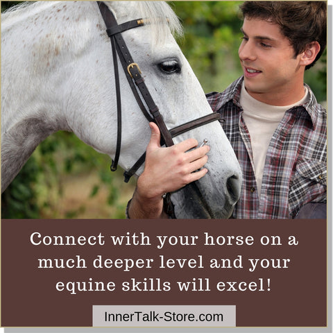 Developing Equine Skills - InnerTalk subliminal self-help motivational affirmations CD / MP3 - Patented! Proven! Guaranteed! - The Best