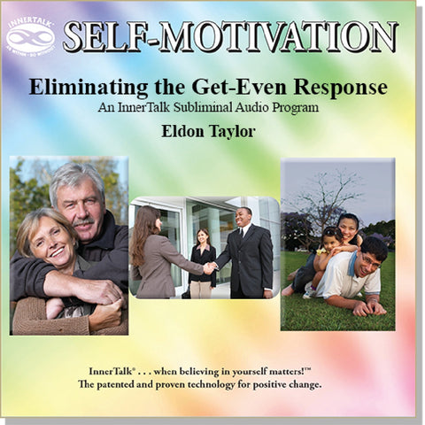 Eliminating The Desire For Revenge - an InnerTalk subliminal self empowerment CD / MP3. The best positive affirmations for positive change!