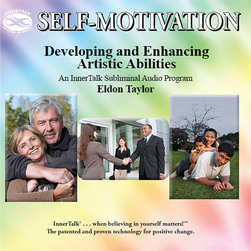 Developing and Enhancing Artistic Abilities - An InnerTalk Subliminal Personal Empowerment audio CD / MP3