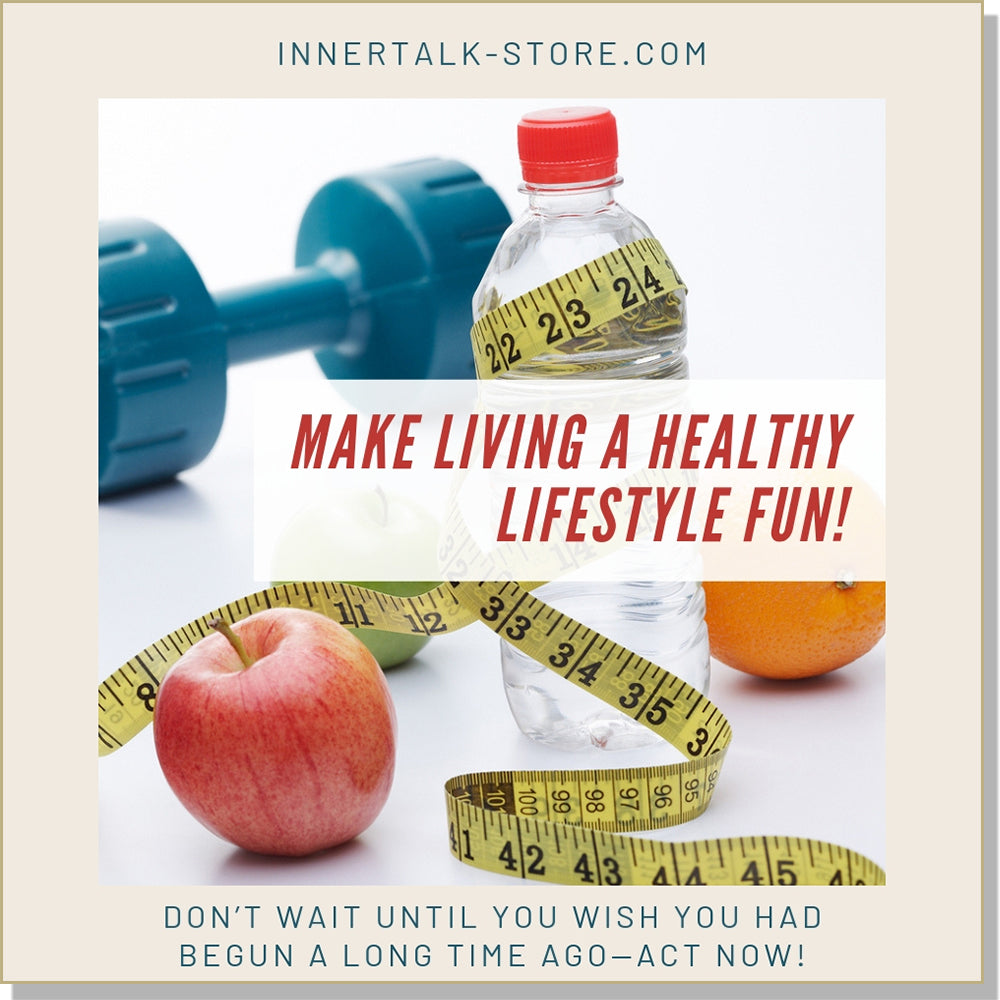 The Joy of Healthy Living (InnerTalk subliminal self help affirmations CD and MP3)