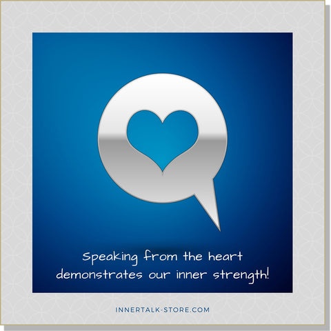 Gentle Communications: Speaking from the Heart  (InnerTalk subliminal self help affirmations CD and MP3)