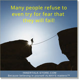 Eliminating the Fear of Failure (InnerTalk subliminal self help affirmations CD and MP3)