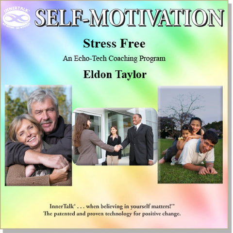 Stress Free (Brain entrainment, binaural beats and InnerTalk subliminal self help / personal empowerment CD and MP3)