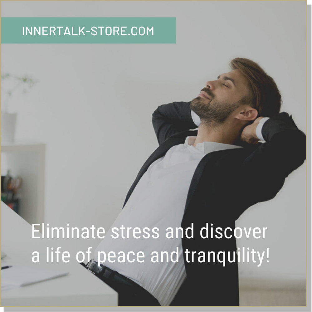 Stress Management Collection - InnerTalk subliminal self help motivational affirmations, hypnosis, tones and frequencies, personal empowerment CDs and MP3s