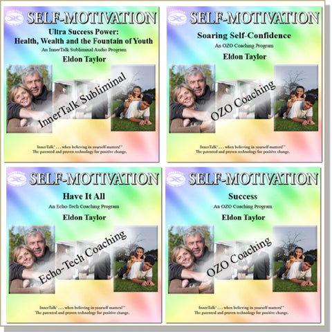 Success ~ Collection: InnerTalk Subliminal Affirmations, hypnosis, tones and frequencies, self help CDs and MP3s