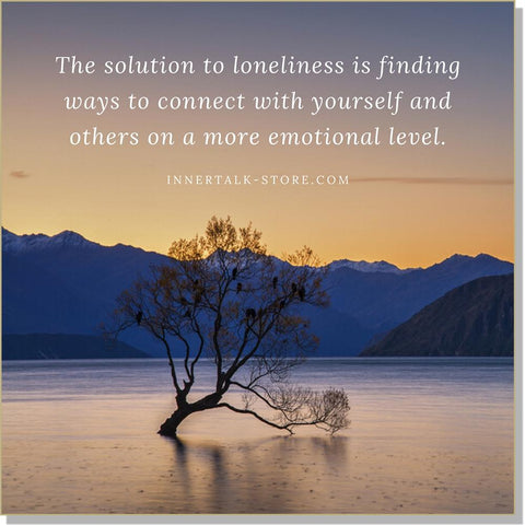 Overcoming Loneliness - an InnerTalk subliminal and hypnosis self help collections of CDs/MP3s - The best!
