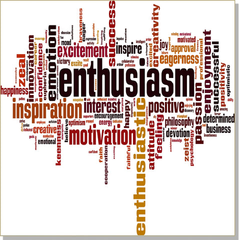 Ultra Enthusiasm  - InnerTalk subliminal self-improvement affirmations CD / MP3 - Patented! Proven! Guaranteed! - The Best