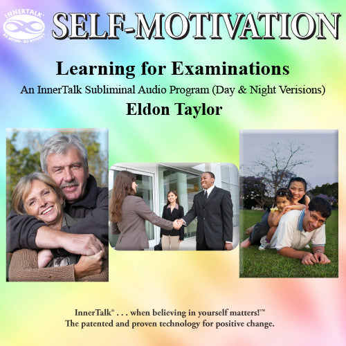 Learning for Examinations (subliminal self help affirmations CDs)