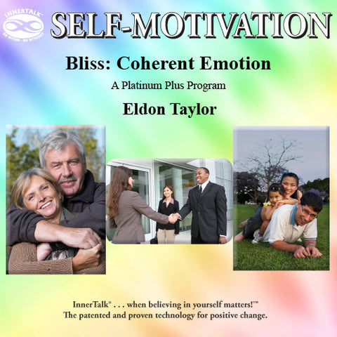 Bliss: Coherent Emotion (Platinum Plus + InnerTalk subliminal self help affirmations CD)