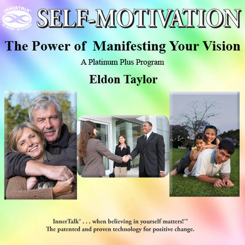 The Power of  Manifesting Your Vision - Platinum Plus hypnotic tones and frequencies plus InnerTalk subliminal self help affirmations on CD and MP3