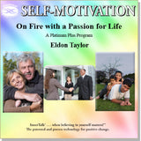 On Fire with a Passion for Life - Platinum Plus hypnotic tones and frequencies plus InnerTalk subliminal self help affirmations on CD and MP3