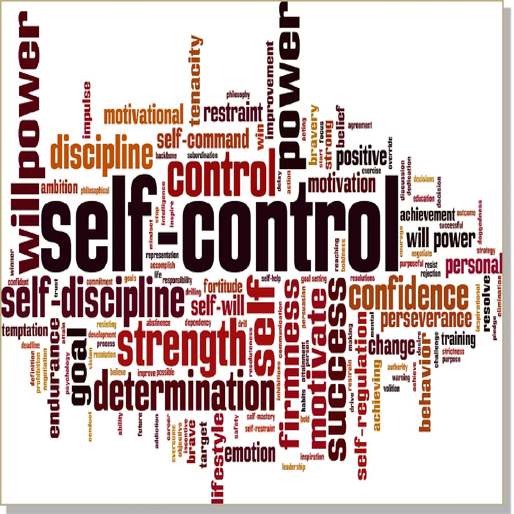 Self Control- InnerTalk subliminal self-help motivational affirmations CD / MP3 - Patented! Proven! Guaranteed! - The Best