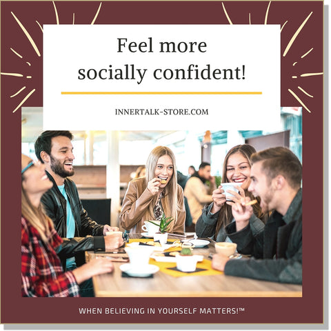 Relieving Social Anxiety: Being Comfortable in Social Settings - an InnerTalk subliminal self-help affirmations CD/MP3 - the patented and proven technology