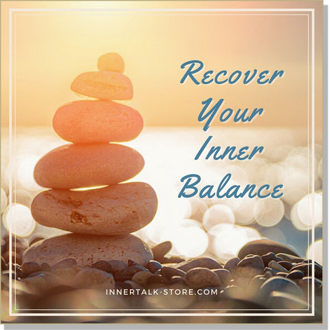 Releasing a Difficult Situation: Recovering Your Inner Balance - an InnerTalk subliminal self-help affirmations CD/MP3 - the patented and proven technology