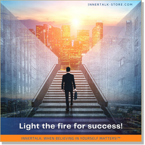 Becoming Ambitious: Lighting the Fire for Success - an InnerTalk subliminal self-help affirmations CD/MP3 - the patented and proven technology