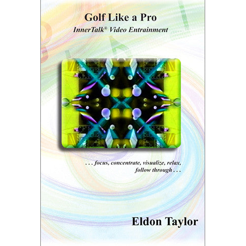 Golf Like A Pro - InnerTalk subliminal hypnosis DVD / MP4 - Personal motivation affirmations