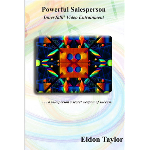 Powerful Salesperson - InnerTalk Subliminal Hypnosis DVD / MP4 - Self Motivation Affirmations