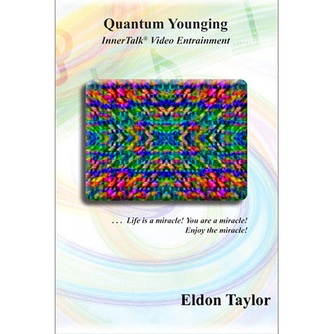 Quantum Younging - InnerTalk Subliminal Hypnosis DVD / MP4 - Personal Empowerment Affirmations