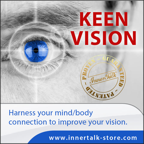 Keen Vision - InnerTalk subliminal self-improvement affirmations CD / MP3 - Patented! Proven! Guaranteed! - The Best