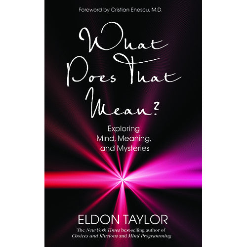 What Does That Mean? by Eldon Taylor