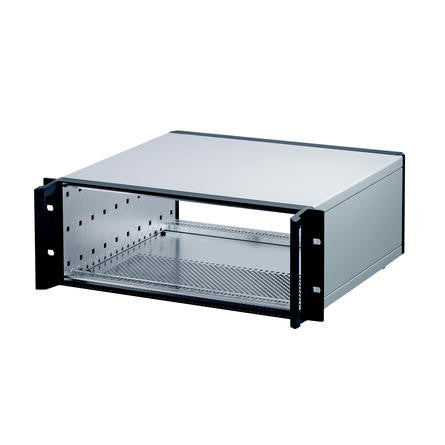 nVent Schroff | 24572-645 |  RatiopacPRO, Case, Unshielded, Rack Mount with Handles 4U x 84HP x 435mm