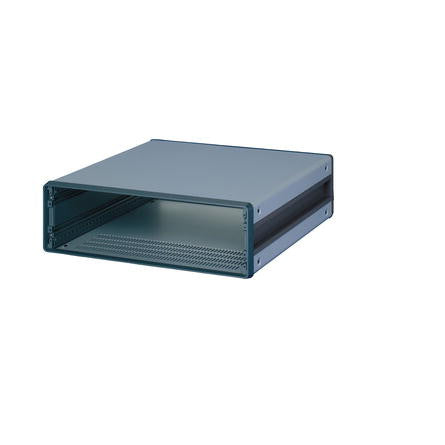 Schroff | 14575-123 |  CompacPRO, Case, Unshielded, Desktop 3U X 42HP X 271mm Deep