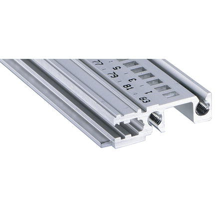 Schroff | 34560-284 |  Type H-SL heavy duty, short lip, 84HP Front Rail
