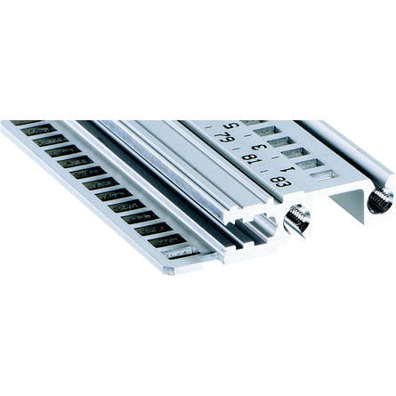 Schroff | 34560-340 |  Type H-LL heavy duty, long lip, 40 HP Front Rail