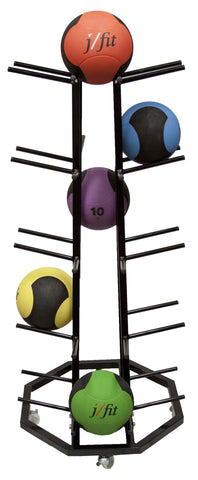 4-Sided Medicine Ball Rack