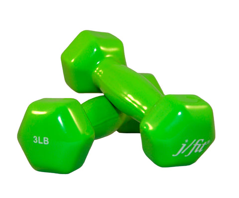 3lb Vinyl Dumbbell Pair