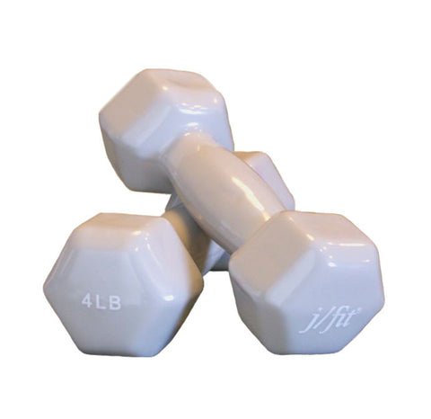 4lb Vinyl Dumbbell Pair