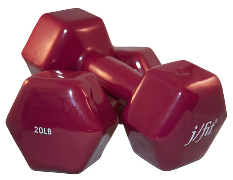 20lb Vinyl Dumbbell Pair