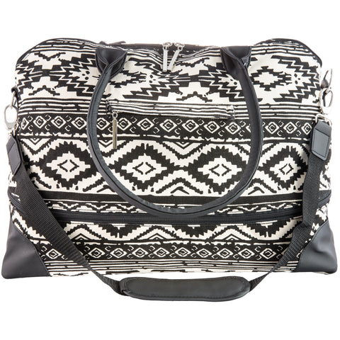 The Hailey Tribal Travel Bag