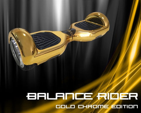 "j/fit Balance Rider - Gold Chrome Edition - 6.5"" Wheel"
