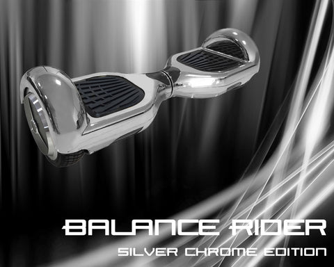 "j/fit Balance Rider - Silver Chrome Edition - 6.5"" Wheel"