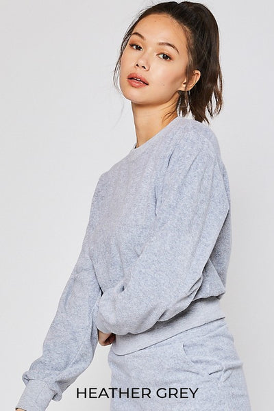 Basic Loop Terry Sweatshirt (5 colours)