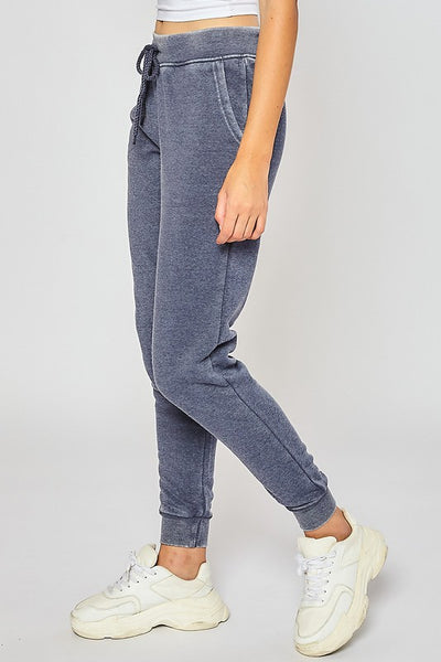 Fleece Burnout Relax Fit Jogger