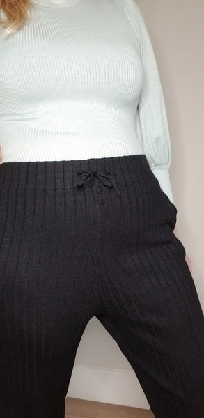 Sweater Ribbed Pants